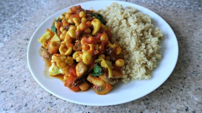 Dr Greger Inspired Protein Packed Vegan Curry