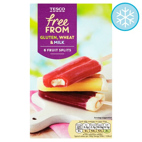 Vegan ice lollies
