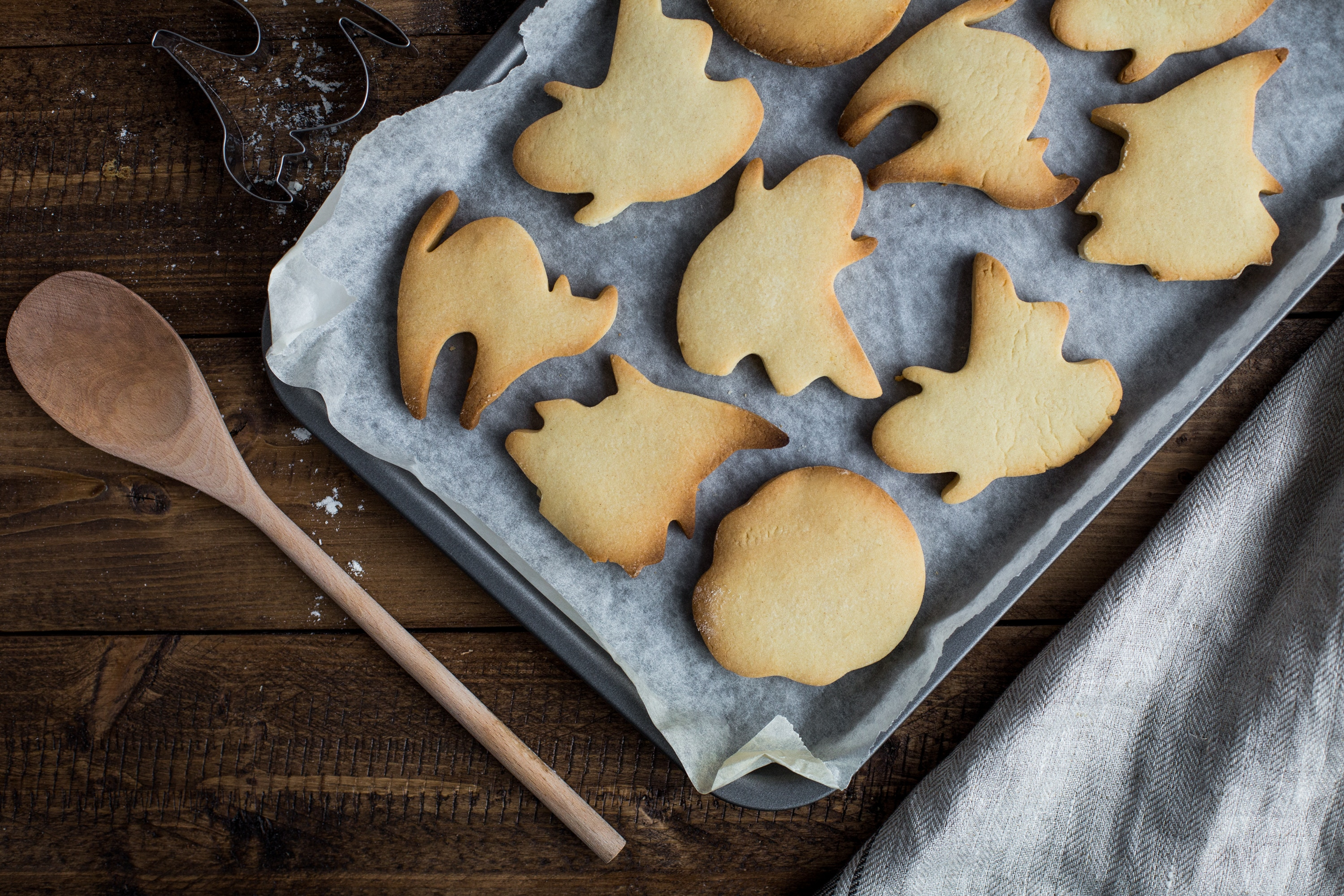 halloween vegan cookies