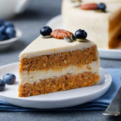 Vegan Cake button for the Vegan Sweet Treats section