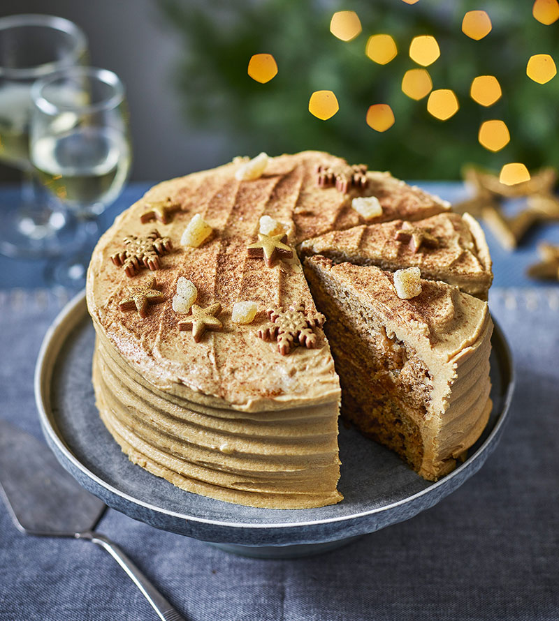 Tesco Wicked Kitchen ginger chai spice cake