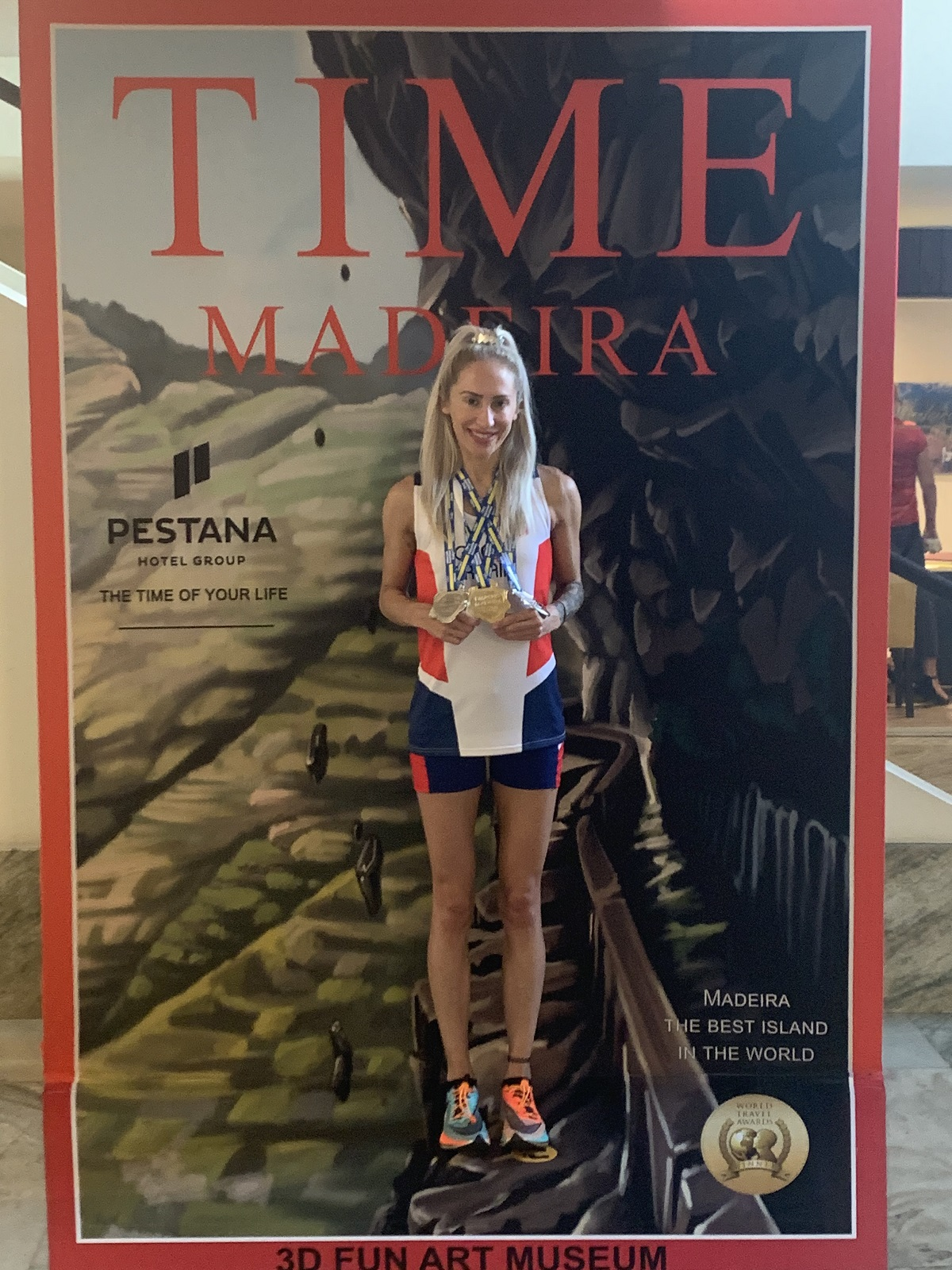 Lisa Gawthorne on the cover of Time magazine