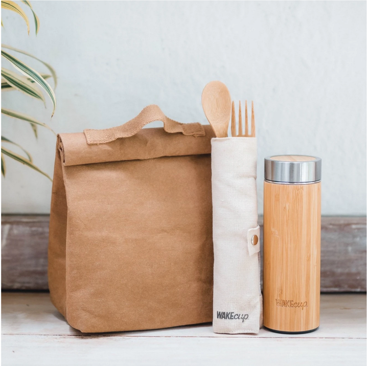 Wake Cup zero waste gift set