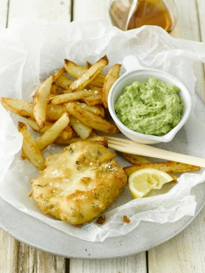Tofish and chips
