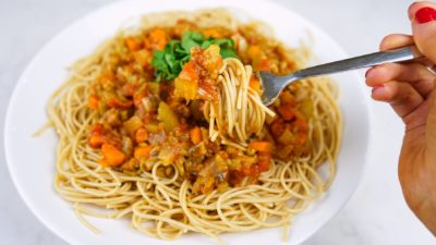 Vegetable Bolognaise